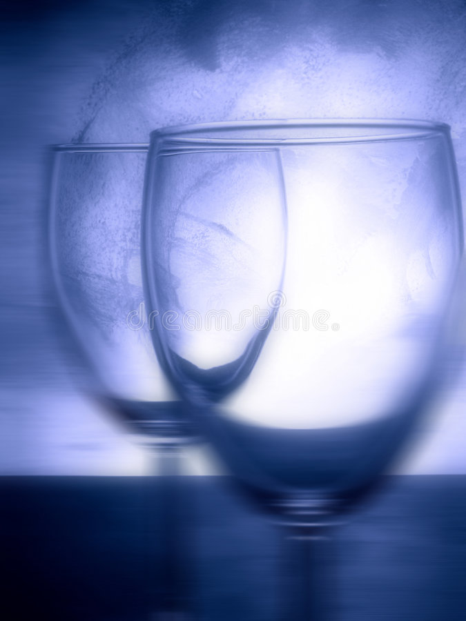 玻璃酒 免版税图库摄影