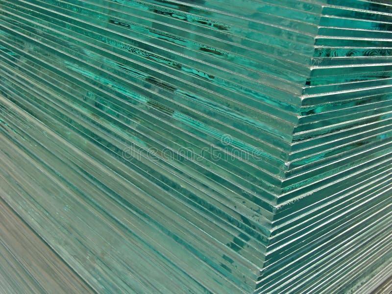 玻璃页 库存图片