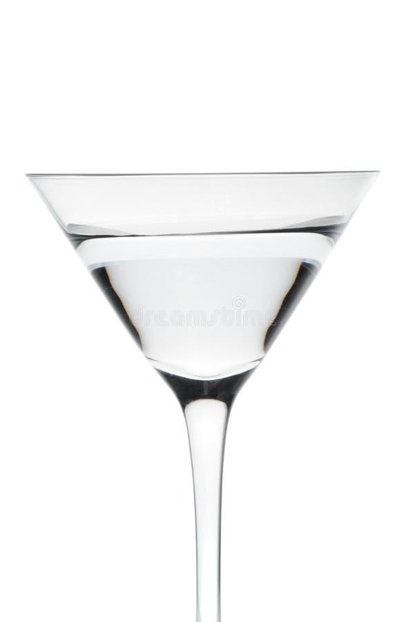 玻璃马蒂尼鸡尾酒 免版税图库摄影