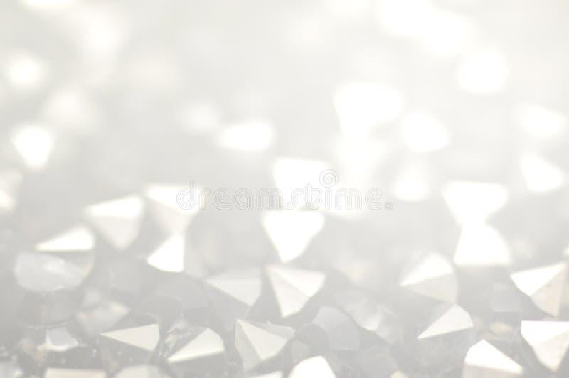 玻璃crystalsin灰色口气 免版税库存图片