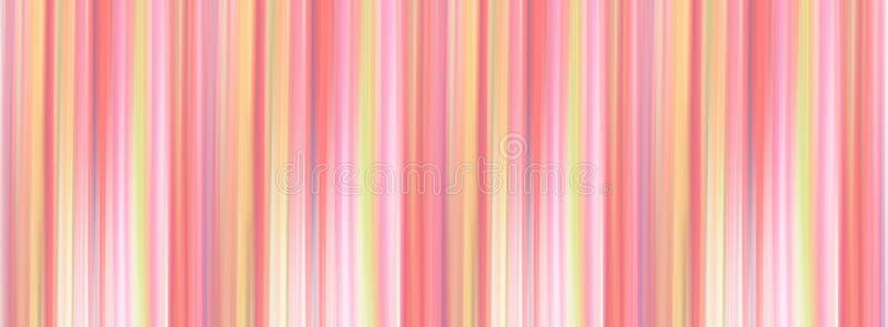 珊瑚和黄色抽象垂直运动作用被弄脏的背景 模糊的抽象设计 样式可以使用作为背景 免版税图库摄影