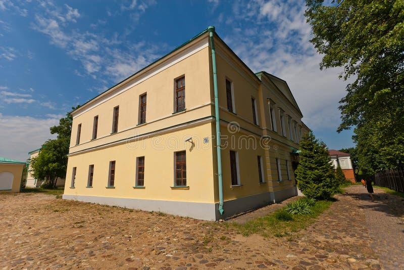 珍宝大厦(XIX c ) Dmitrov克里姆林宫,俄罗斯 免版税库存照片
