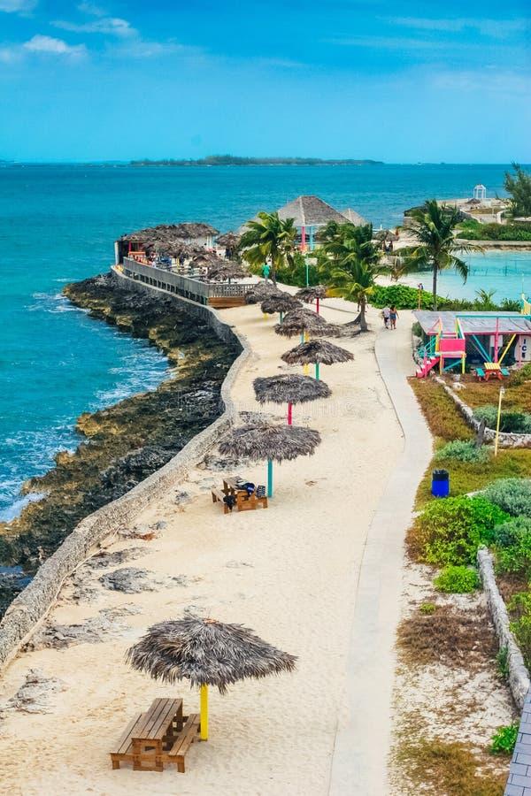 珍珠海岛在拿骚,巴哈马 免版税库存照片