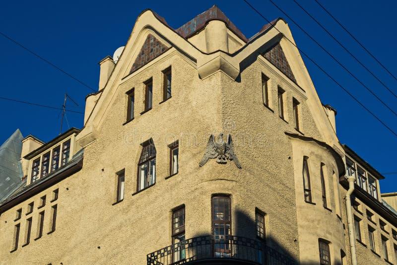珠宝北现代在圣彼德堡 库存照片