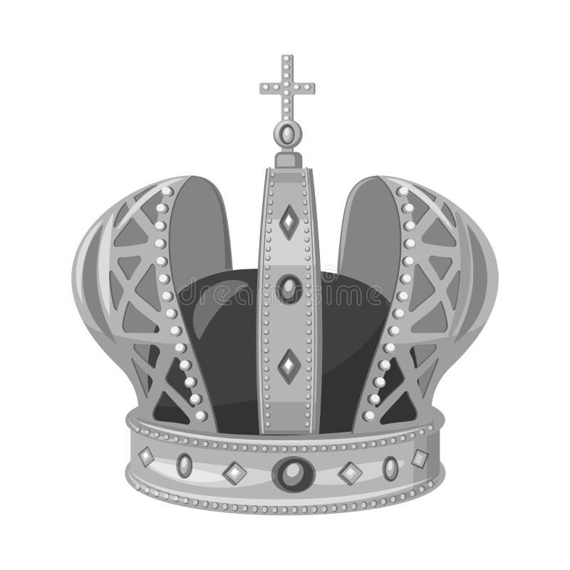 珠宝和vip商标被隔绝的对象  设置珠宝和贵族储蓄传染媒介例证 库存例证