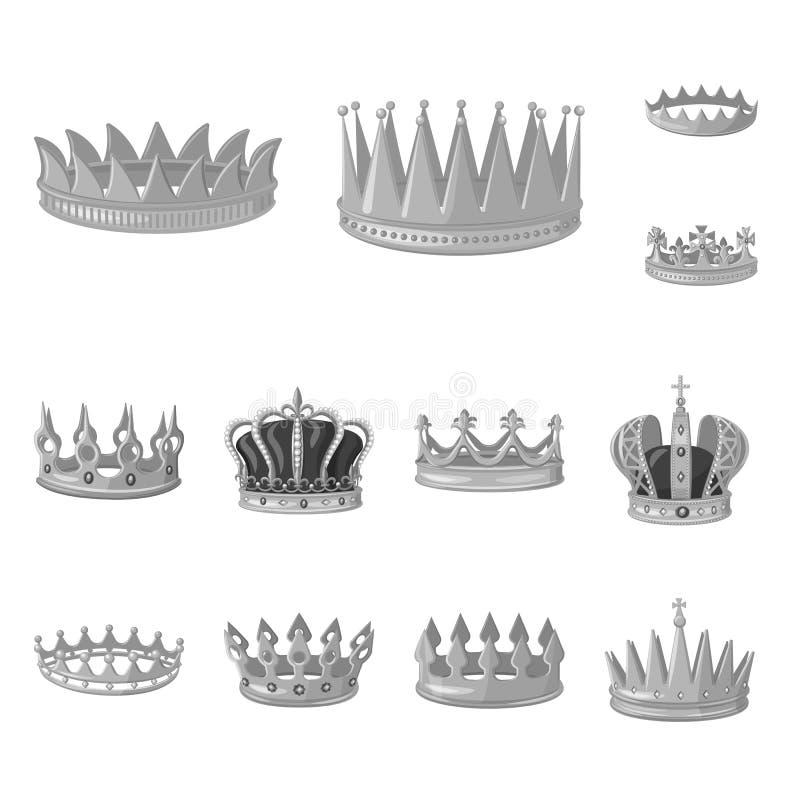 珠宝和vip标志被隔绝的对象  珠宝和贵族储蓄传染媒介例证的汇集 皇族释放例证
