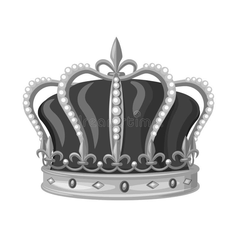 珠宝和vip标志被隔绝的对象  珠宝和贵族储蓄传染媒介例证的汇集 向量例证