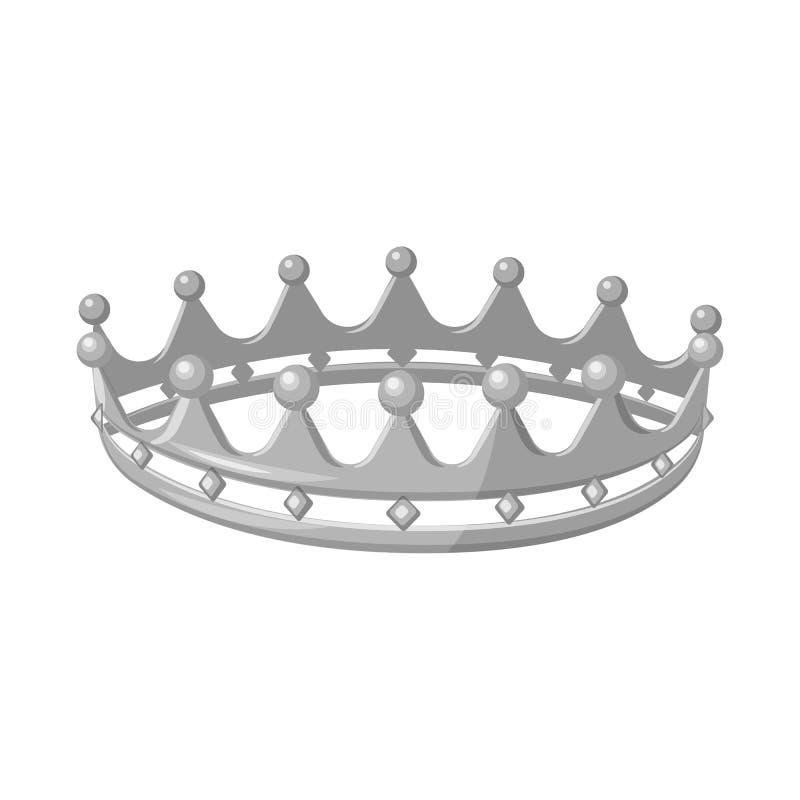 珠宝和vip标志被隔绝的对象  设置珠宝和贵族储蓄传染媒介例证 库存例证