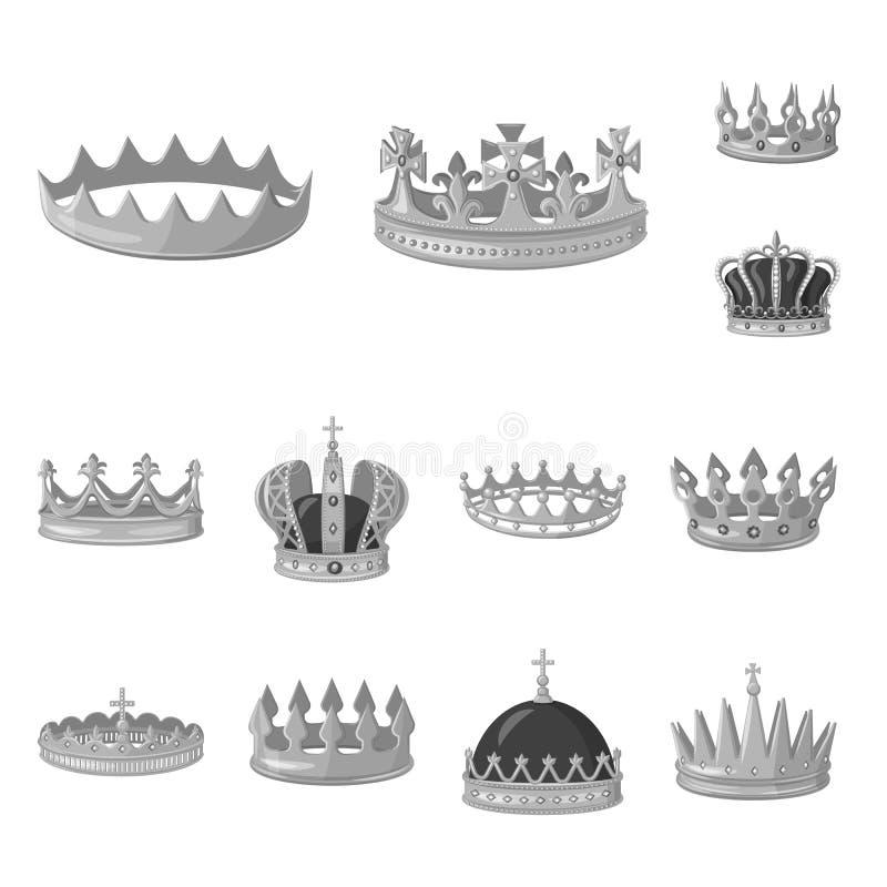 珠宝和vip象传染媒介设计  设置珠宝和贵族传染媒介象股票的 库存例证