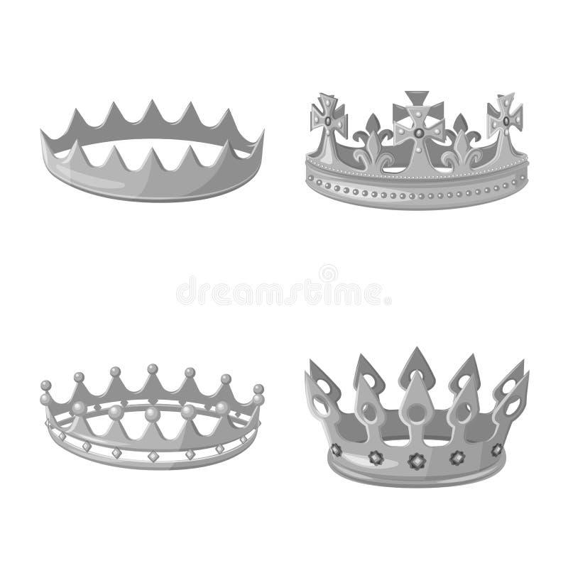珠宝和vip象传染媒介设计  设置珠宝和贵族传染媒介象股票的 皇族释放例证
