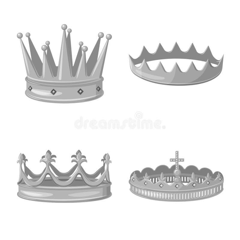 珠宝和vip象的传染媒介例证 珠宝的汇集和贵族股票的传染媒介象 皇族释放例证