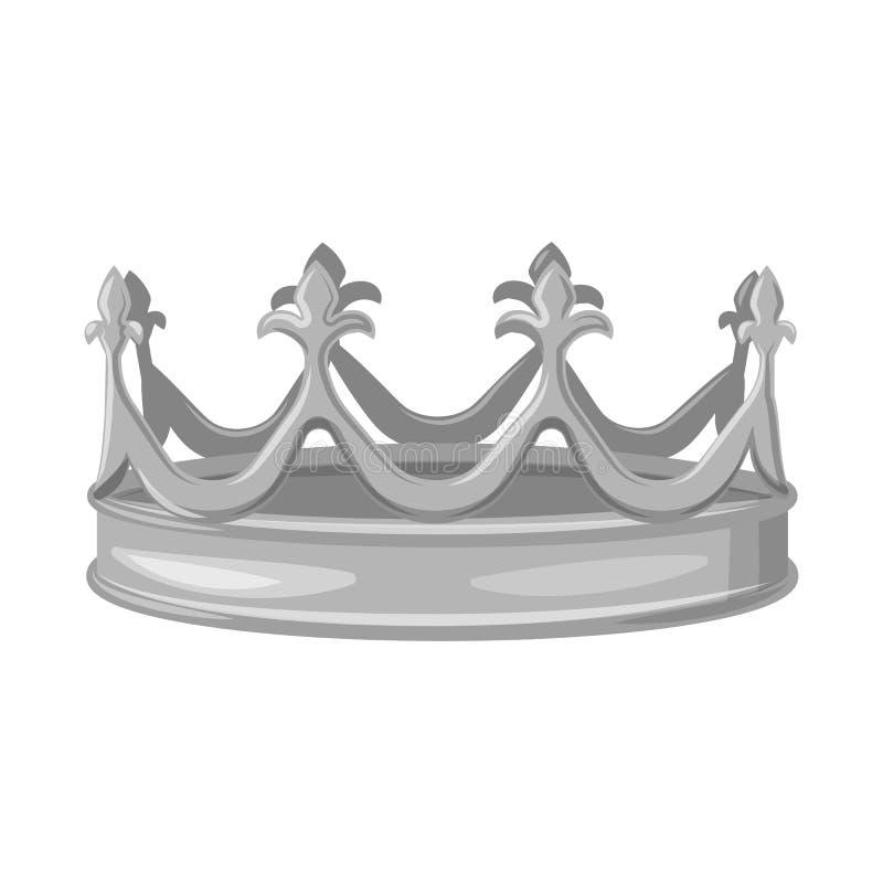 珠宝和vip象的传染媒介例证 设置珠宝和贵族股票简名网的 库存例证