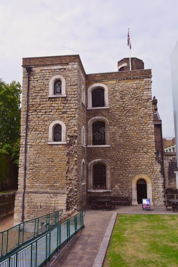 珠宝塔在伦敦,大英国 免版税库存图片
