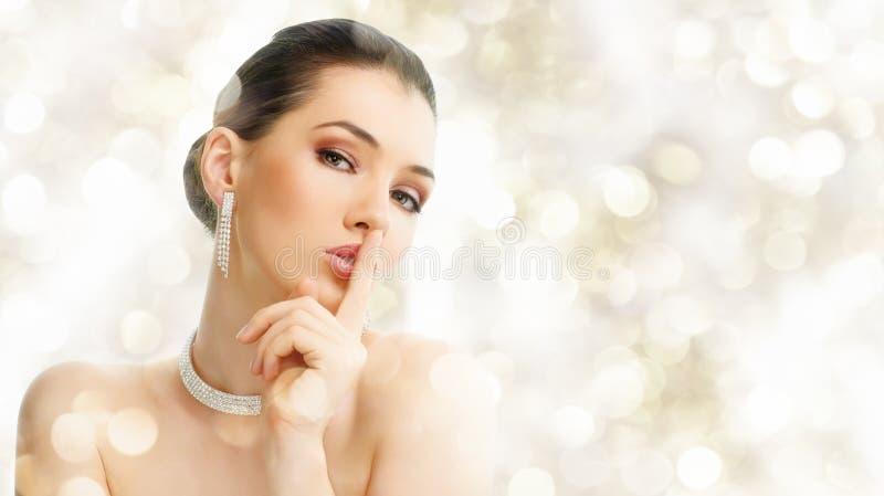 珠宝妇女 库存图片