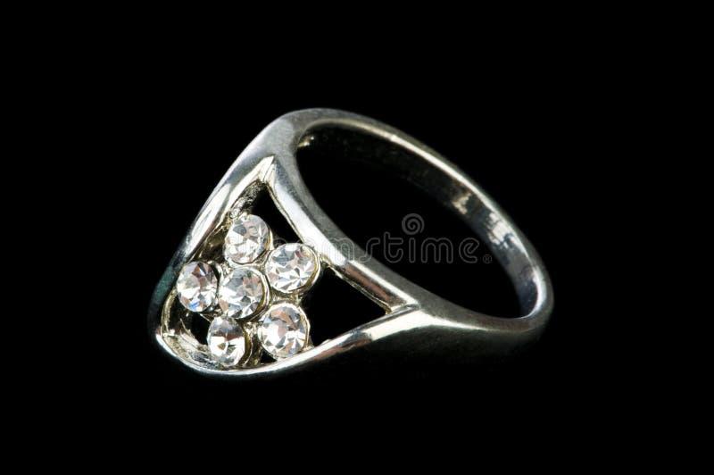 珠宝环形 免版税图库摄影