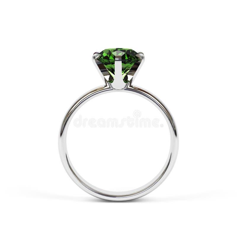 珠宝环形 向量例证