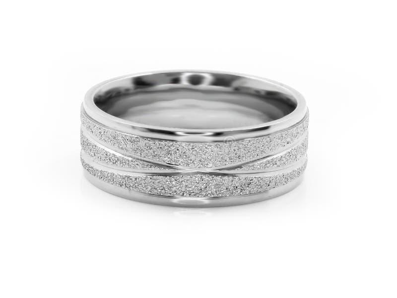 珠宝结婚戒指 r 免版税库存照片