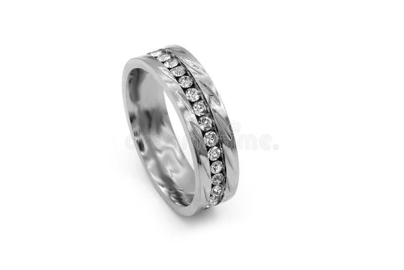 珠宝结婚戒指 r 库存图片