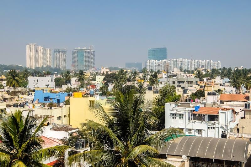 班加罗尔美好的都市风景在好日子 图库摄影