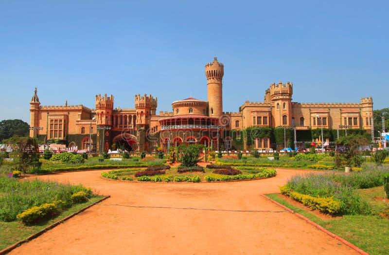 班格洛宫殿在印度 免版税图库摄影