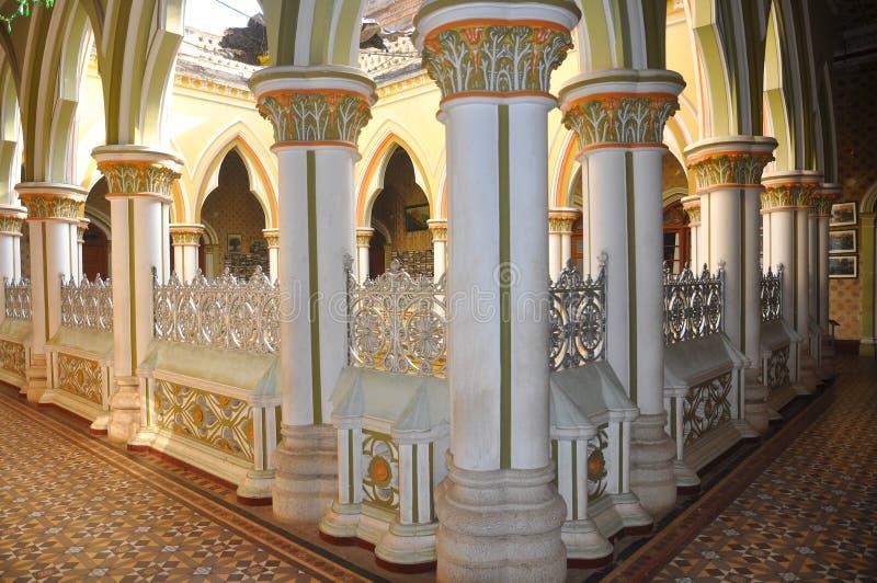 班格洛宫殿 库存图片