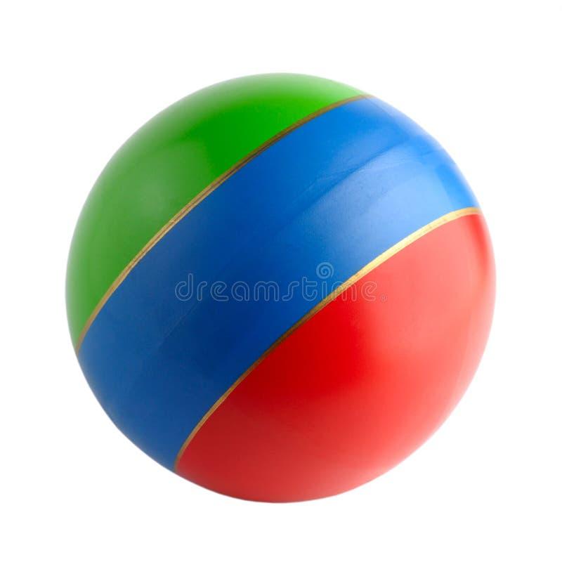 球五颜六色的橡胶玩具 图库摄影