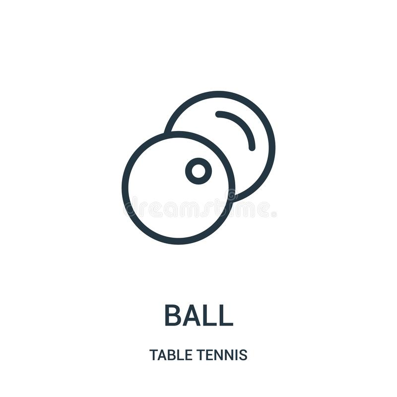 球从台球汇集的象传染媒介 稀薄的触线球概述象传染媒介例证 线性标志为在网的使用和 皇族释放例证
