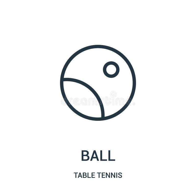 球从台球汇集的象传染媒介 稀薄的触线球概述象传染媒介例证 线性标志为在网的使用和 库存例证