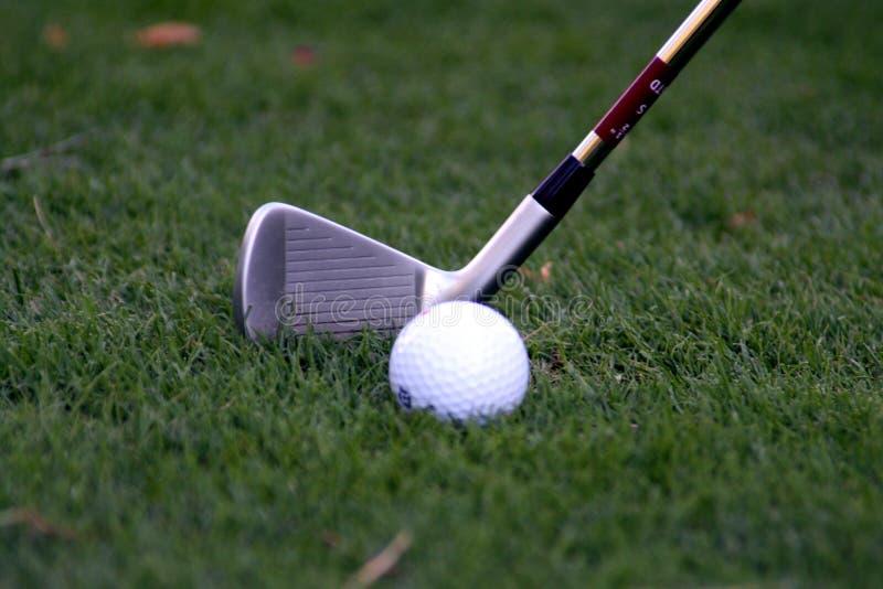 球俱乐部高尔夫球 图库摄影
