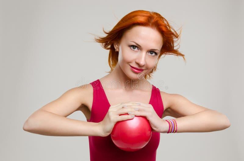 球健身设计 免版税库存照片