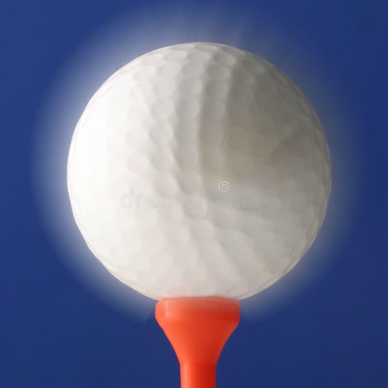 球发光的高尔夫球 库存照片