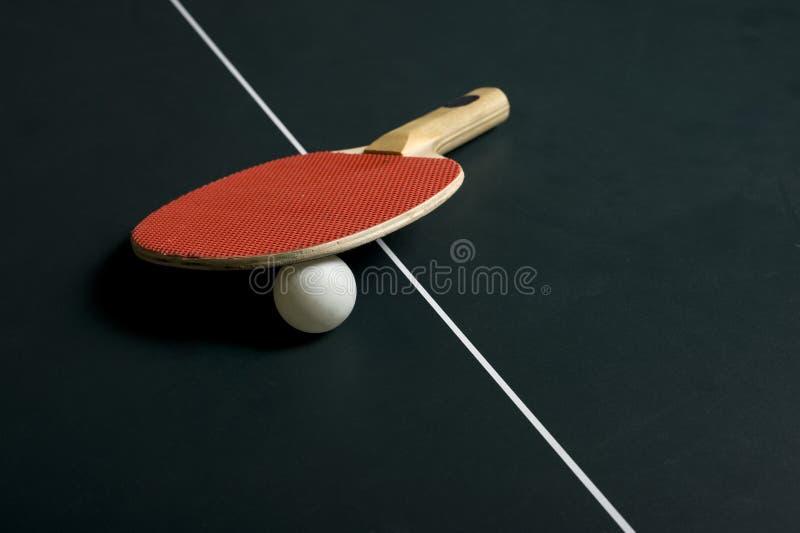 球台网球 免版税库存照片