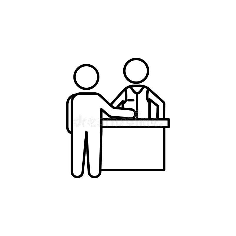 球员和副主持人桌象的 赌博娱乐场的元素流动概念和网apps的 网站设计和d的稀薄的线象 皇族释放例证
