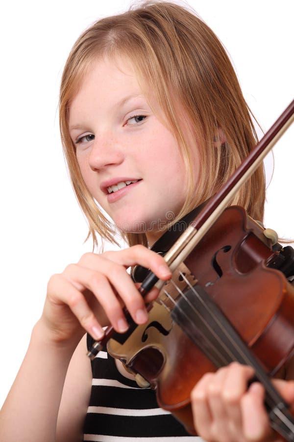 球员小提琴 库存图片