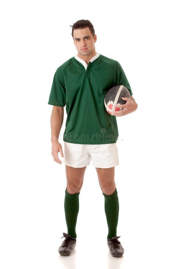 球员橄榄球 库存图片