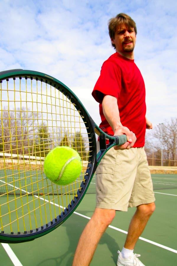 球员网球 免版税库存照片