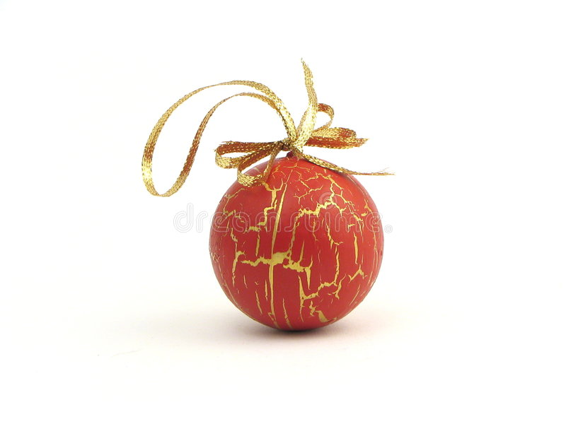 球圣诞节 免版税库存照片