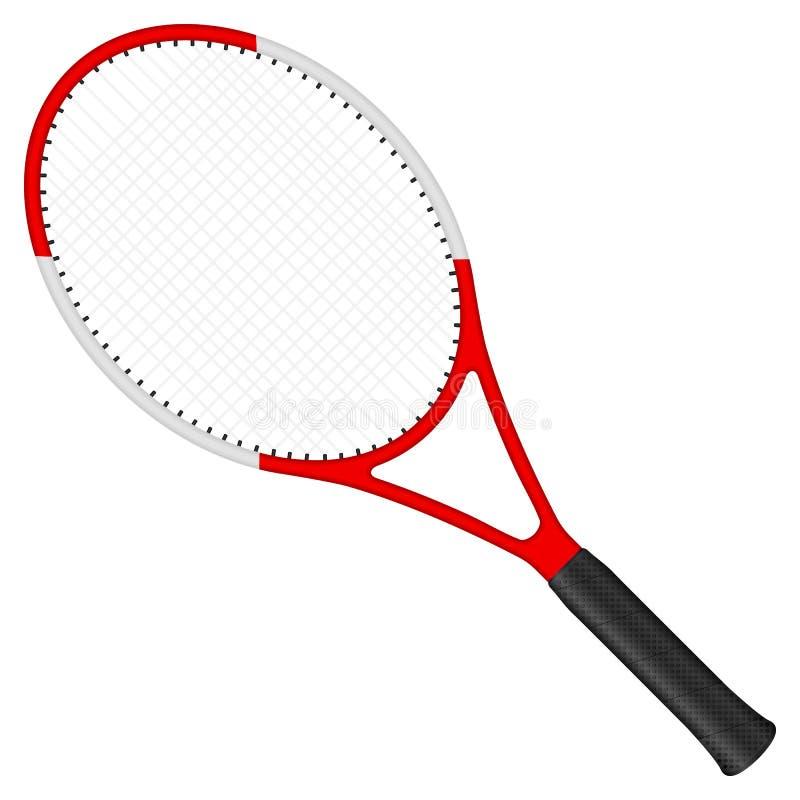 球拍网球 向量例证