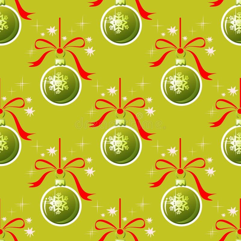 Download 球无缝圣诞节的模式 向量例证. 插画 包括有 圣诞节, 季节性, 冬天, xmas, 图象, 华丽, 图画 - 62535219