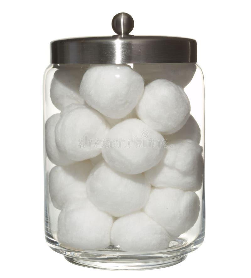 球棉花 库存照片