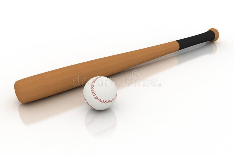 球棒球棒查出 皇族释放例证