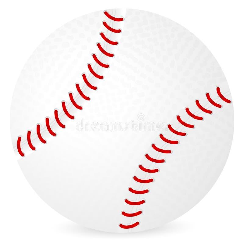 球棒球 向量例证