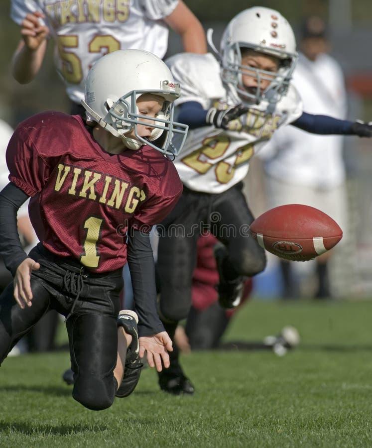 球橄榄球疏松青年时期 免版税库存照片