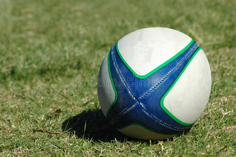 球橄榄球 库存图片
