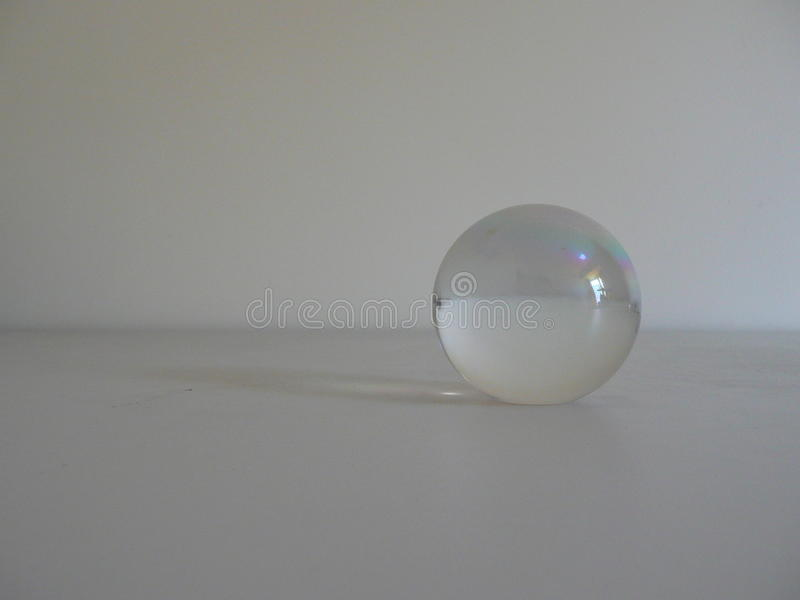 球水晶范围 免版税库存图片