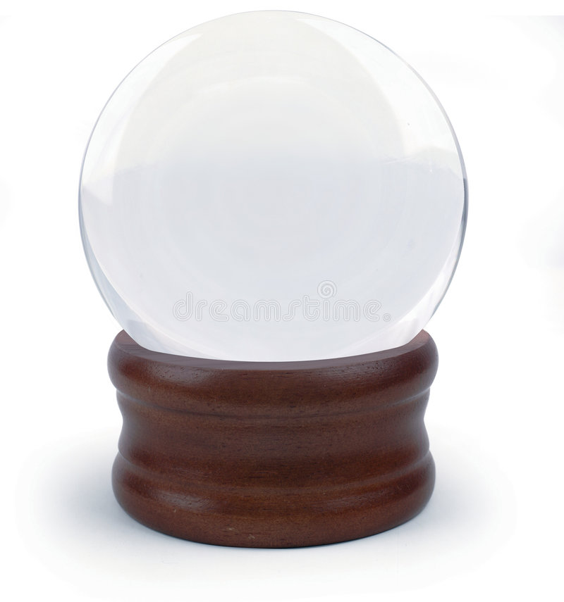 球水晶 库存图片
