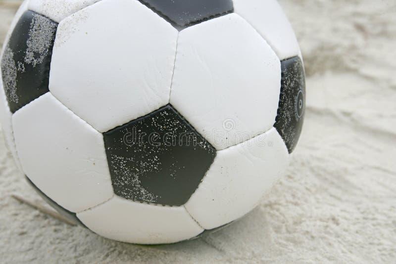 球海滩足球 免版税库存照片