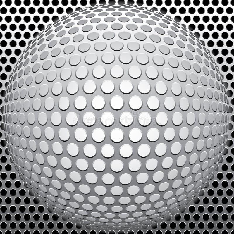 球漏洞 向量例证