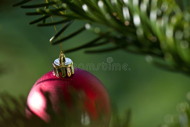 球球圣诞节装饰品xmas 免版税图库摄影