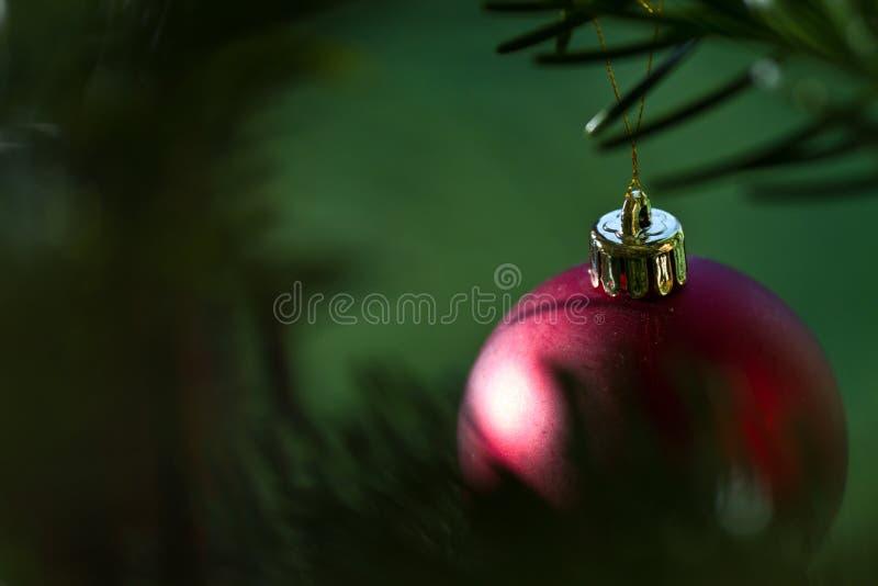 球球圣诞节装饰品xmas 库存照片